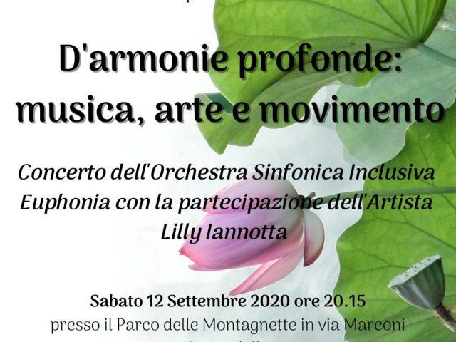 D'ARMONIE PROFONDE: MUSICA, ARTE E MOVIMENTO
